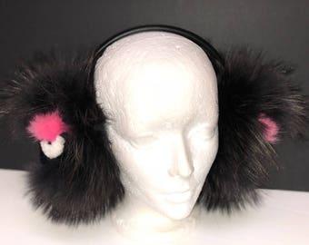 Fur Monster Ear Muffs
