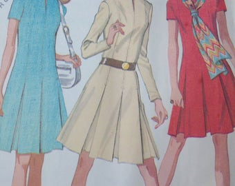 Vintage Dress 16 Sewing Pattern  McCalls 2463