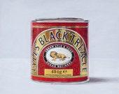 Lyle's Black Treacle. Limited edition giclée print.