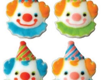 40 Edible Clown  Assortment  Sugar Decorations        Simply Darling