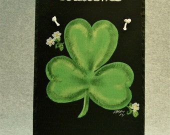 Painted Slate - Shamrock *Personalized No Charge*