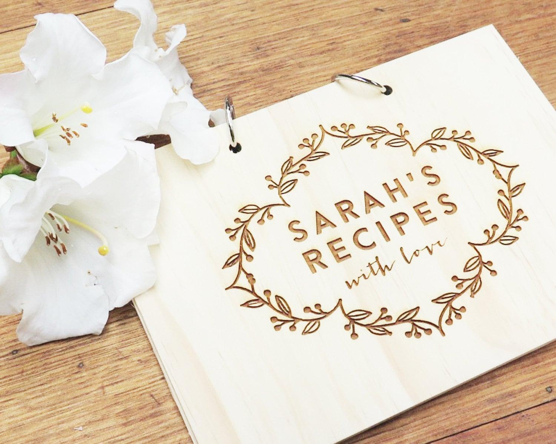 Gift Card Wedding Shower: Recipe Book. Recipe Card. Kitchen Tea. Bridal Shower. Birthday