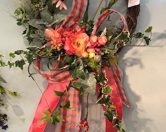 Custom Spring Wreath