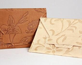 Mini Leather Envelope Pouch