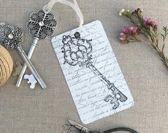 Xl metal key tag