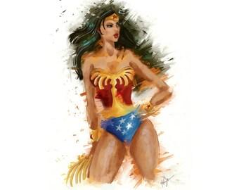 Vintage Wonder Woman