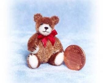 Cubby - Miniature Teddy Bear Kit - Pattern - by Emily Farmer