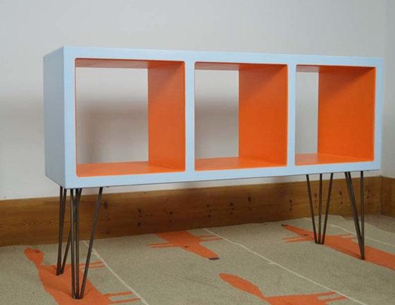 Items Similar To Retro Vinyl Storage Hairpin Furniture