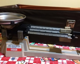 Ohaus 1973 Triple Beam Scale Good Condition