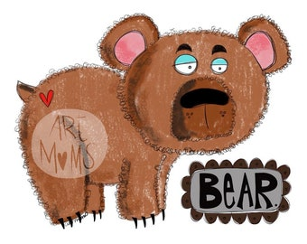 B is for Bear Print