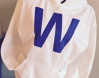 FLY THE W - Cubs Win Hooded Sweatshirt