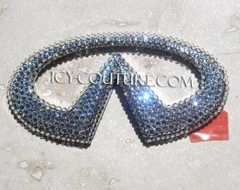 Crystal INFINITI Car Bling Emblem with Swarovski crystals