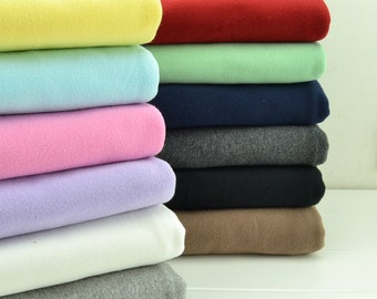 Natural cotton wool fabric, class A big stretch fabric , Cotton knitted fabric , baby cloth / slobber towel / children cloth--1/2 yard