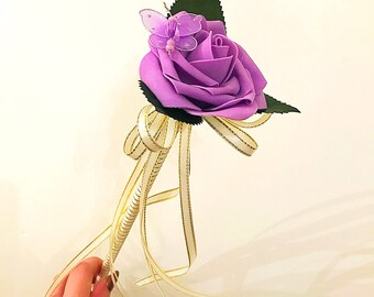 The Purple Fairy Flower Wand