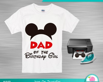 Doc mcstuffins iron on transfer dad of the birthday girl instant download mickey mouse iron on transfer dad of the birthday girl printable iron on diy t shirt iron on print yourself solutioingenieria Gallery