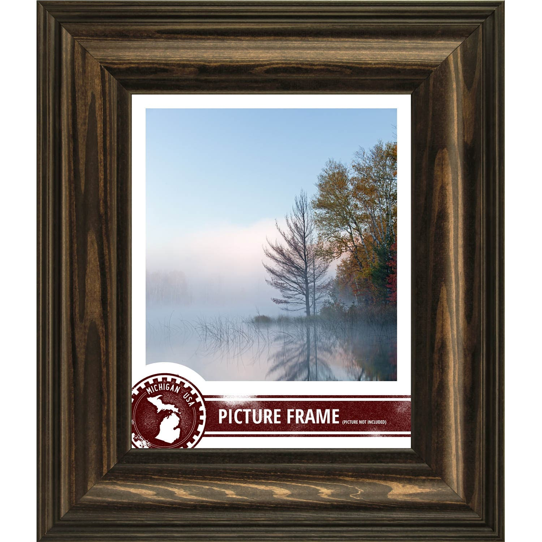 Craig Frames, 20x24 Inch American Walnut Brown Wood Picture Frame ...