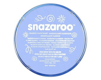 Pale Blue, Face Paint, Ink; Body Art, Marking, Cosplay, Carnival, Theater, Temporary Tattoo, etc Snazaroo Classic Face Paint