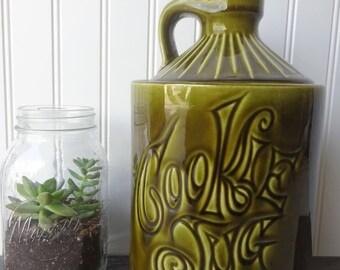 Vintage Ceramic Cookie Jar - Cookie Jug