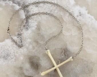 Cross Bones Necklace