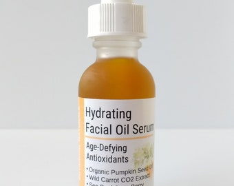 Super Antioxidant Facial Oil, Pumpkin & Wild Carrot, Sea Buckthorn, Evening Primrose