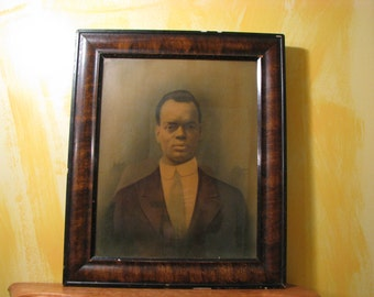 Vintage Portrait of an African American Man