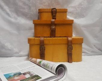 Set of 3 Vintage Decorative  Boxes