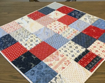 Hand Made Quilted Table Topper