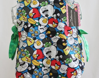Angry Birds Toddler Art Smock Apron Bib