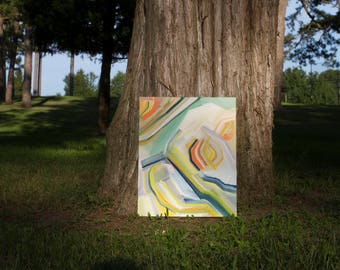 Abstract Painting Summer Series