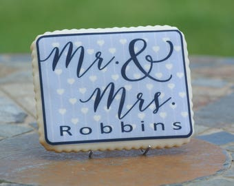 Personalized Wedding Cookie Favors