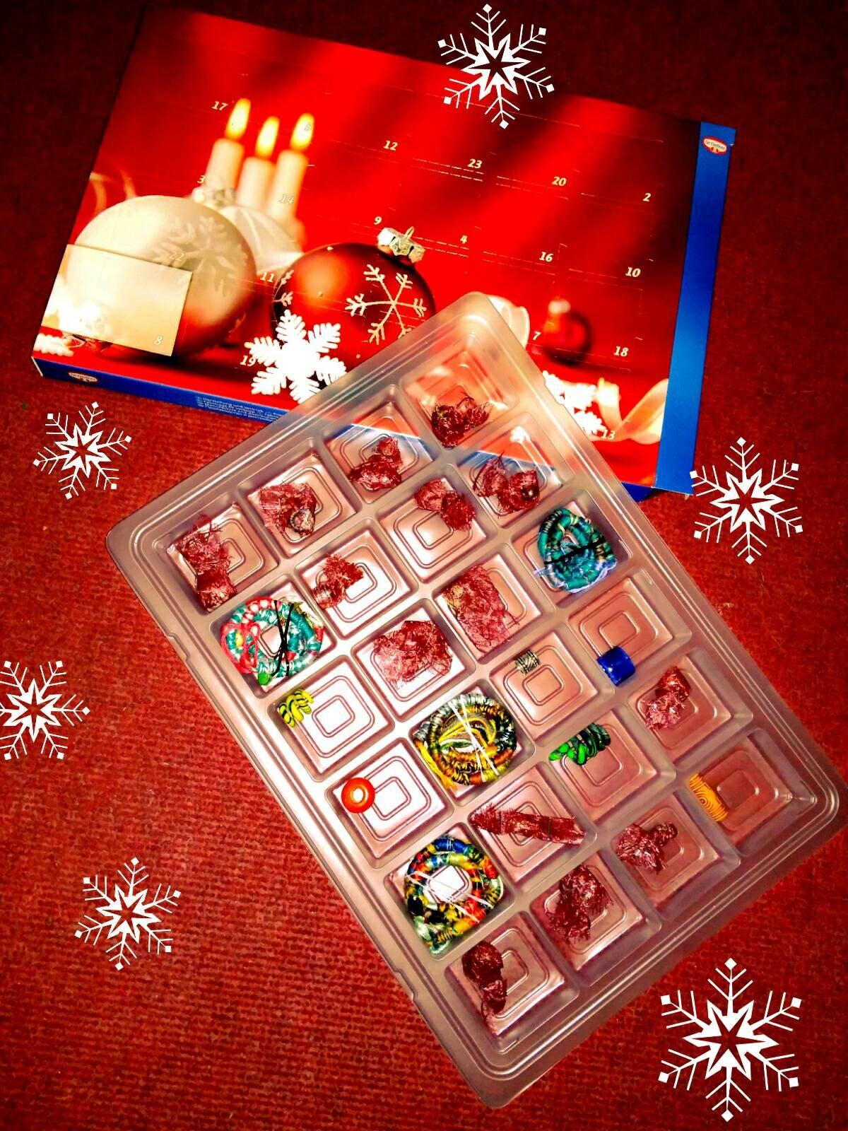 Advent calendar Christmas Calendar beads Dreadperlen