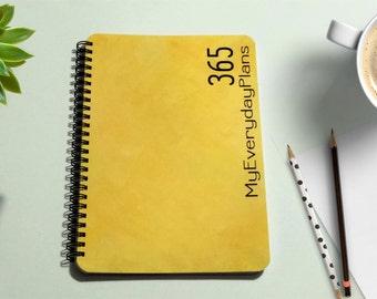 Weekly Planner, Student Planner College Student Planner, Weekly Organizer, 6 x 9 Planner, Undated Planner, Agenda, Teacher Planner, Notebook