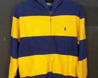 Vintage Polo Ralph Lauren Hooded Jacket Sweater