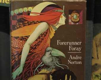 """Vintage Sci Fi Book: """"Forerunner Foray"""" Andre Norton 