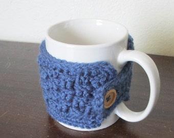 Crochet Cup Cozy, Coffee Cozy, Cup Sleeve, Coffee Sleeve, Stocking Stuffer, Teacher Gift, Office Gift, Mug Cozy, Mug Sleeve