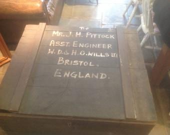 Vintage Engineers Chest