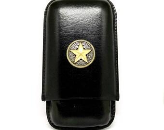 Texas Star Cigar Case