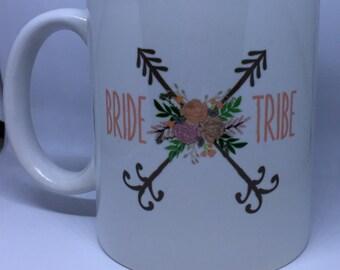 Bride Tribe coffee mug