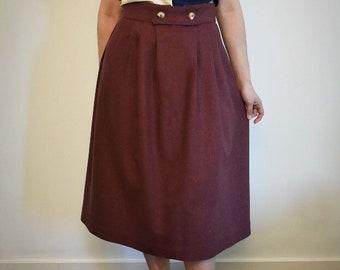 Farmhouse Pleated Skirt