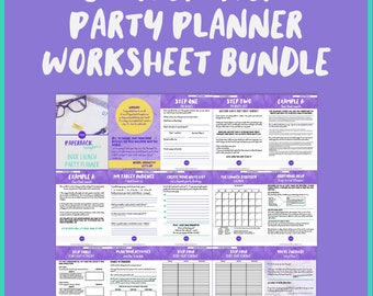Book Launch Party Planner