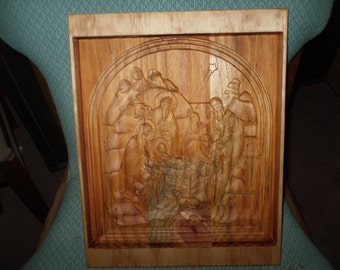 WOOD CARVING-