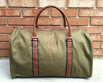 Personalized Duffle Bag - Monogrammed Duffle Bag - Custom Duffle Bag - Personalized  Duffle Bag