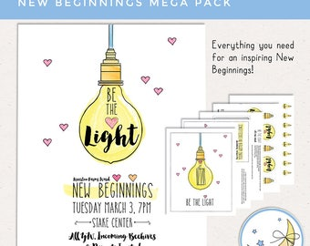 Be the Light New Beginnings Mega Pack [NON-CUSTOMIZED]