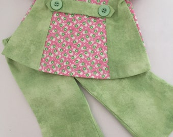 18 inch doll-2 piece pant set
