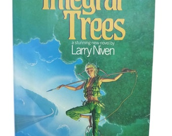 The Integral Trees by Larry Niven (1984, Hardcover) 1st edition, Signed