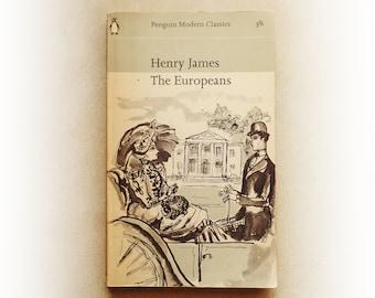 Henry James - The Europeans - Penguin vintage paperback book - 1964