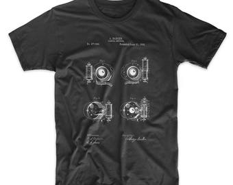 Camera Shutter Patent T Shirt, Photographer Gift, Camera Shirt, Home Shirt, Photography T Shirt, PP0707