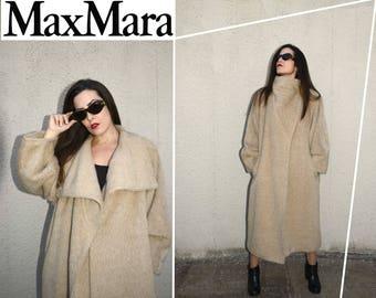 Pre Xmas Price drop: Max Mara Alpaca coat / Immaculate conditions