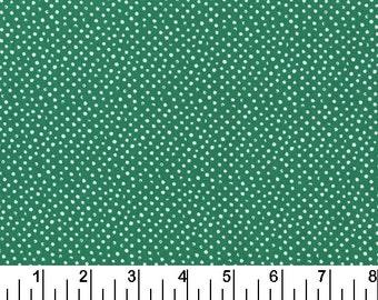 Mini Confetti Dots - Emerald Green by Dear Stella (258-Emerald) - Fabric Yardage