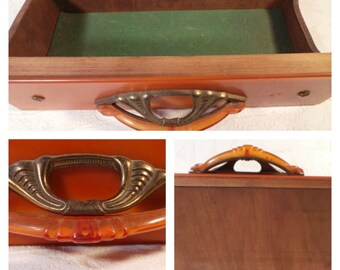 Wood Drawer, Cabinet Drawer, Assemblage Prop, Mixed Media Supply, Wood Drawer, Art Deco Drawer, Vintage Drawer, Antique Wood Drawer